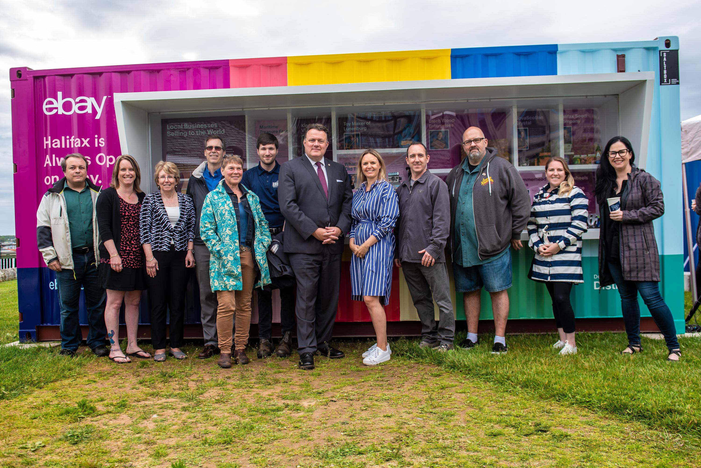 Halifax Partnership | Ebay Canada Launches Travelling