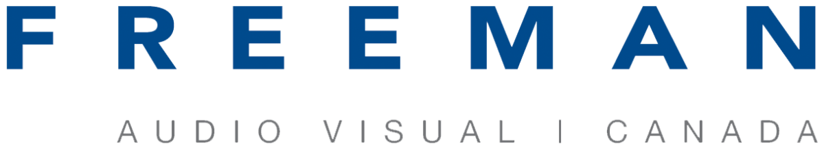 Freeman Audio Visual Canada's Logo